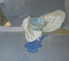 Sangram Majumdar, Annie's bowl, oil on linen, 40 x 36 in, 2008 (private collection)