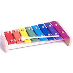 Classic World Wooden Rainbow Xylophone - bambino $30