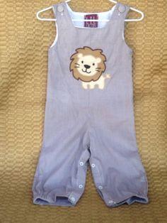 A personal favorite from my Etsy shop https://www.etsy.com/listing/246622141/roar-baby-boy-lion-jon-jon
