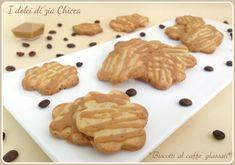 Biscotti al caffè glassati