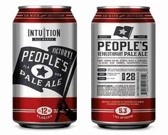Intuition Ale Works. Great logo and branding design. Slick color scheme too! #z3