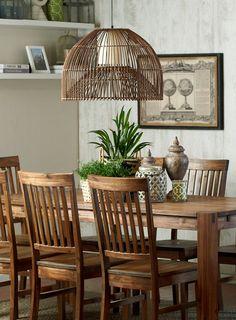 Para espacios #cálidos, #clásicos y #elegantes siempre #madera ;) #Comedor #Mesa #Homy