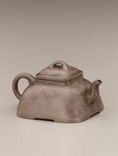 Chinese Art | Yixing ware teapot | F1939.68a-b