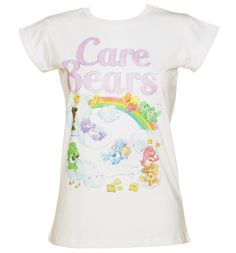 TruffleShuffle Womens Care Bears Clouds T-Shirt If you ever practiced your Care Bear stare, you are going to fall in love with this super sweet tee featuring the cuddly bears in a vintage style, clouds design! http://www.MightGet.com/february-2017-3/truffleshuffle-womens-care-bears-clouds-t-shirt.asp