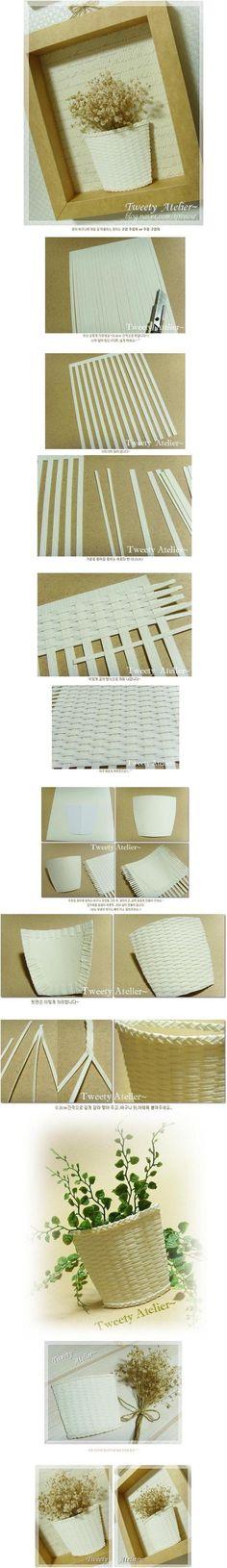DIY Paper Pot Decoration DIY Paper Pot Decoration