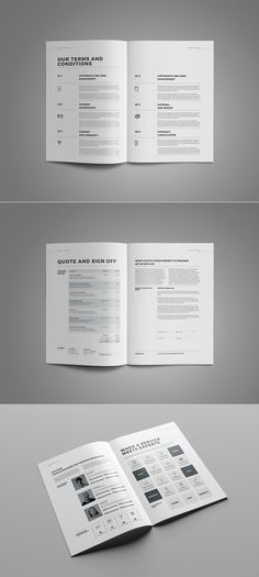 20 Creative Brochures - Mega Bundle by Kovalski on @creativemarket - portfolio word template