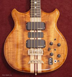 Alembic Bass. I've always had a thing for them despite never quite living up to their price tag.