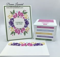 Stampin' Up! Art Gallery Spring Card for Amy's Inkin' Krew Blog Hop