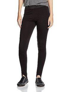 12 L32 (Manufacturer Size:12), Black, New Look Women's Stirup Leggings