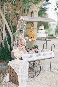french provincial inspired fig wedding cake   deserts - brides of adelaide | more at: http://www.bridesofadelaide.com.au/index.php?tag=29