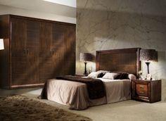 Dormitorio en madera