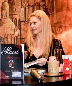 "Lansare de carte: Marat. Iubirea are spini. Autoare: Natasa Alina Culea (Natasa, barbatii si psihanalistul) Book Launch - Love novel ""Marat. Love has thorns"". Author Natasa Alina Culea https://www.createspace.com/5334838/"