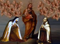 """TERESA de Jesús y JUAN de la Cruz supieron aprender de JOSE aquel trato de amor y amistad """"con quien sabemos nos ama""""."""