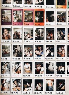 50 Super Elegant Dorm Room Decorating Ideas 2020 cabinets decor ideas top of Photo Polaroid, Polaroid Wall, Polaroid Display, Polaroid Pictures Display, Polaroids On Wall, Instax Wall, Polaroid Decoration, Polaroid Camera, Photowall Ideas