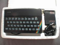 The ZX Spectrum is We can hardly believe that three decades have passed since we were sat there hammering the keys playing Daley Thompson's Decathlon. Decathlon, Computer Keyboard, Spectrum, Childhood Memories, Growing Up, Fun Stuff, Keys, Computers, Retro