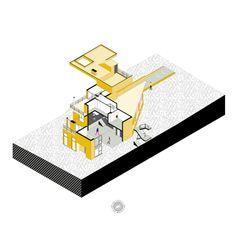 CASA PINAR__Esta vivienda se caracteriza por sus planos rectos, una combinación de cubos de diferentes alturas con una cubierta de forma triangular que vuela para dar forma y personalidad propia al conjunto.