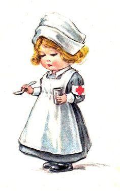 foto de Mejores 126 imágenes de Enfermera (dibujos) en Pinterest