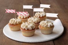 shop our Fete party decor & pick up our cupcake toppers!