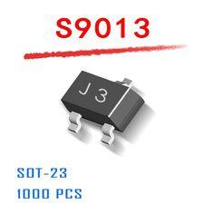 Power Supply MMBT9013 SOT-23 1000pcs/lot s9013 9013 J3 sot23 25V 0.5A 500mA npn data inside SMD