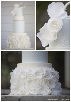 Chanel Winter White by Hey there, Cupcake!  |  TheCakeBlog.com