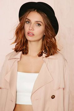 I need dis... for my birfday. :) Pweeaaaase? Rock The Boater Hat | Shop Hair + Hats at Nasty Gal