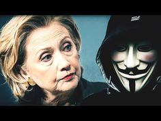 The hacktivist collective known as Anonymous calls out Hillary Clinton for her various crimes, lies, and corrupt dealings. On their site it is written that it is time Mrs. Clinton be held accountable for her crimes against the Untied States Read More . Hacker World, Hillary Clinton Campaign, Primary Election, Presidential Election, Obama Administration, People Talk, Usa People, Conservative News, A Thousand Years