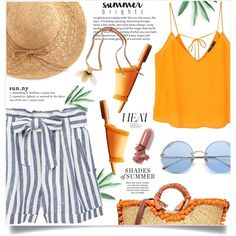A fashion look from August 2017 by jan31 featuring MANGO, Sam Edelman, Marni, WithChic, LAQA & Co. и heatwave
