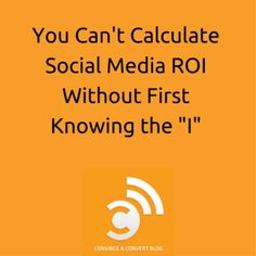 Social Media ROI's Missing Ingredient