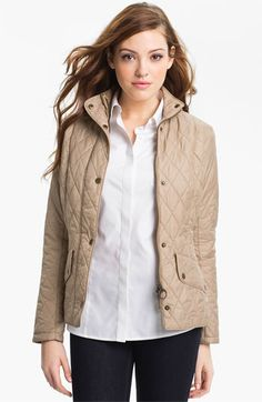Barbour 'Calvary' Flyweight Quilt Jacket available at Nordstrom Blazers For Women, Coats For Women, Clothes For Women, Barbour Clothing, Nordstrom Jackets, Barbour Jacket, Vegan Fashion, Quilted Jacket, Women's Fashion Dresses