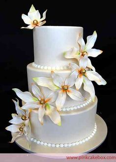 3 Tier Wedding Cake Pictures