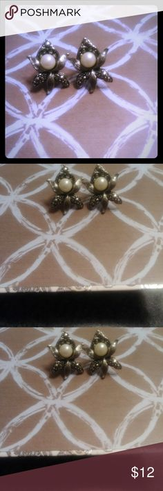 Vintage Avon Earrings These earrings are in excellent vintage condition. Vintage Jewelry Earrings