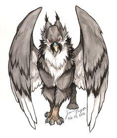 Grey Griffin by jessielp89