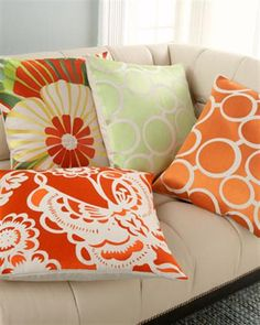 How To Upgrade Your Living Room with Colorful Decorative Pillows