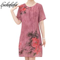 Cheap dress vestidos, Buy Quality long dress directly from China floral dress Suppliers: Women Loose Print Floral Dress 2017 New Summer Chiffon Silk Button Short Sleeve Ladies Casual Knee-Length Long Dresses Vestidos Summer Dresses For Women, Cheap Dresses, Designing Women, Chiffon, Short Sleeve Dresses, Silk, Woman, Clothes For Women, Lady