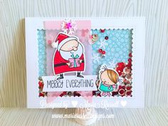 MFT STAMPS ~ SKETCH CHALLENGE NO. 306 NOVEMBER 10, 2016 | MARIA RUSSELL | merry everything shaker