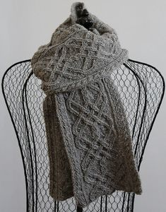 Iron Works Scarf by Madeline Lee - C$7.00 CAD (sweater and cap to match)