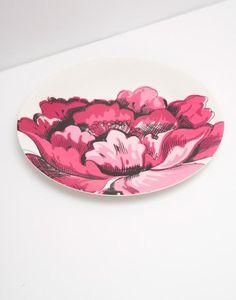 Blaze Cream Bloom Melamine Dinner Plate , Size One Size | Joules UK
