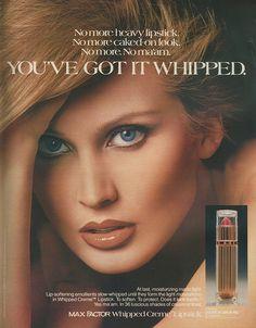 Max Factor Lipstick Ad 1979