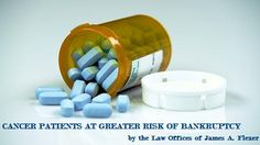 Cancer patients at greater risk of bankruptcy - blog by the Law Offices of James Flexer, Murfreesboro, TN