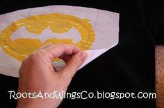 RootsAndWingsCo: Search results for freezer paper batman shirt