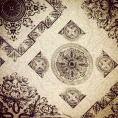 Estampa lenço design Rodrigo Gugui para Blumarine by La Carpa Silk, via Flickr