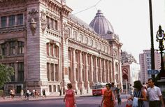 Muzeul Național de Istorie a României, 1972 foto: Robert Janak