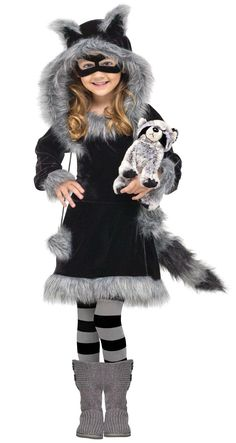 Sweet Raccoon Toddler Costume from Buycostumes.com - change to a hedgehog costume for LIlja