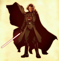 Anakin/Vader by Jeff Spokes