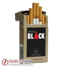 Slowly savored for lasting pleasure. Djarum Black Cappuccino is made of selected cloves and tobacco, enhanced with Cappuccino flavor for a rich taste.