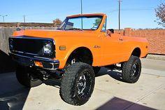 72 Chevy Truck, Chevy 4x4, Lifted Chevy, Classic Chevy Trucks, Gm Trucks, Diesel Trucks, Lifted Trucks, Cool Trucks, K5 Blazer