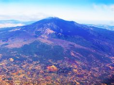 Etna from the plane - Sicily Etna dall'aereo - Sicilia
