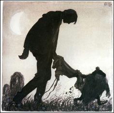 Swedish artist, John Bauer (1882-1918).