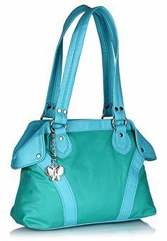 Butterflies Women's Handbag (Multi-Color) (BNS 0243)