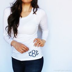 Glam Grab - Cutest Monogram Shirt Ever - Hip